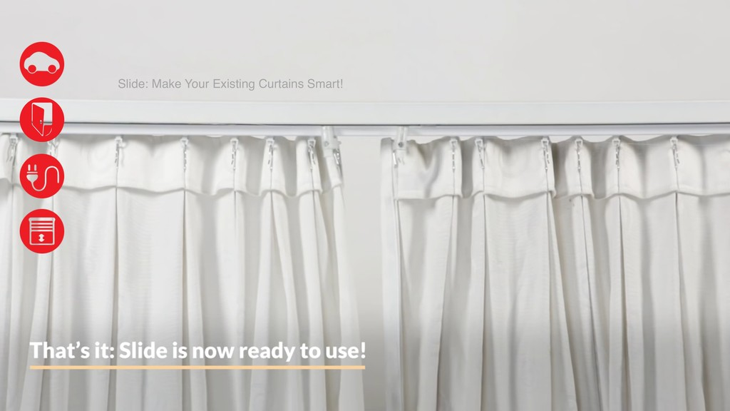 Slide: Make Your Existing Curtains Smart!
