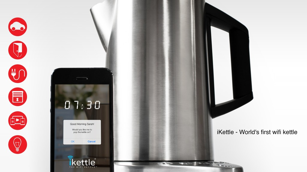 iKettle - World's first wifi kettle