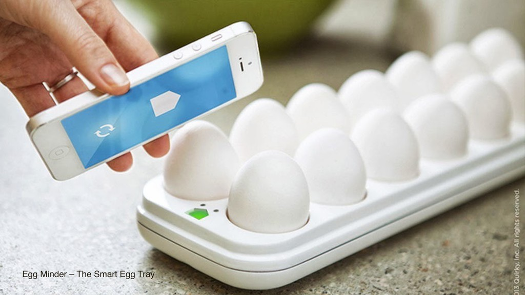 Egg Minder – The Smart Egg Tray