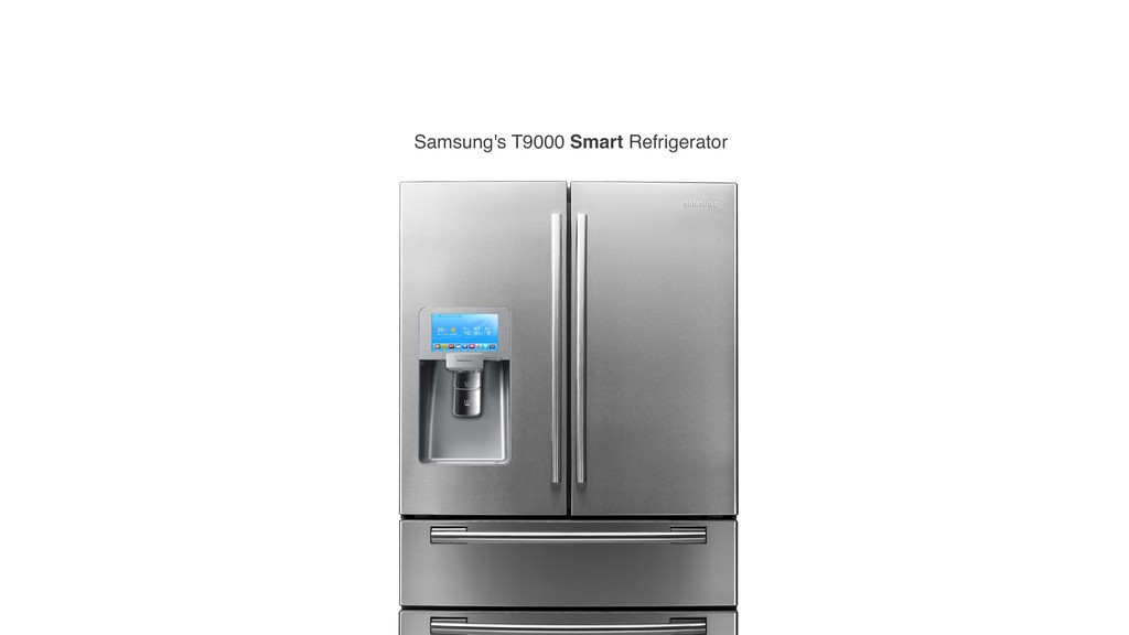 Samsung's T9000 Smart Refrigerator