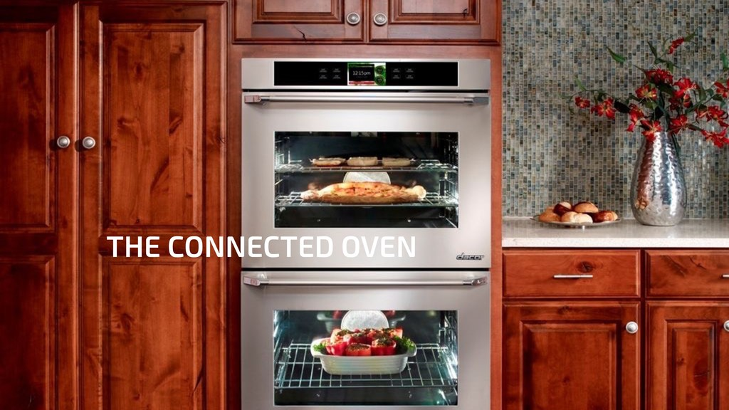 THE CONNECTED OVEN