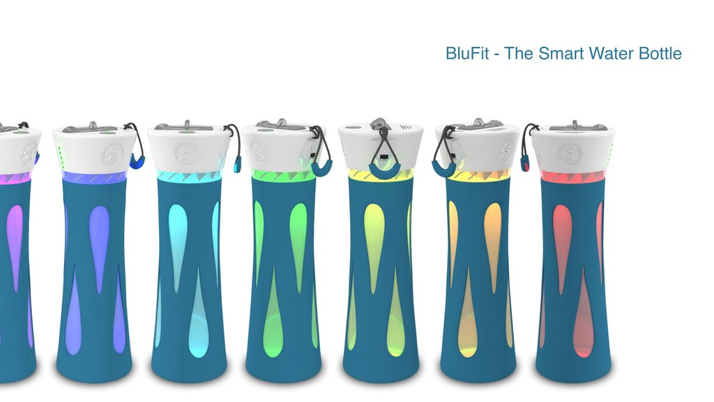 BluFit - The Smart Water Bottle