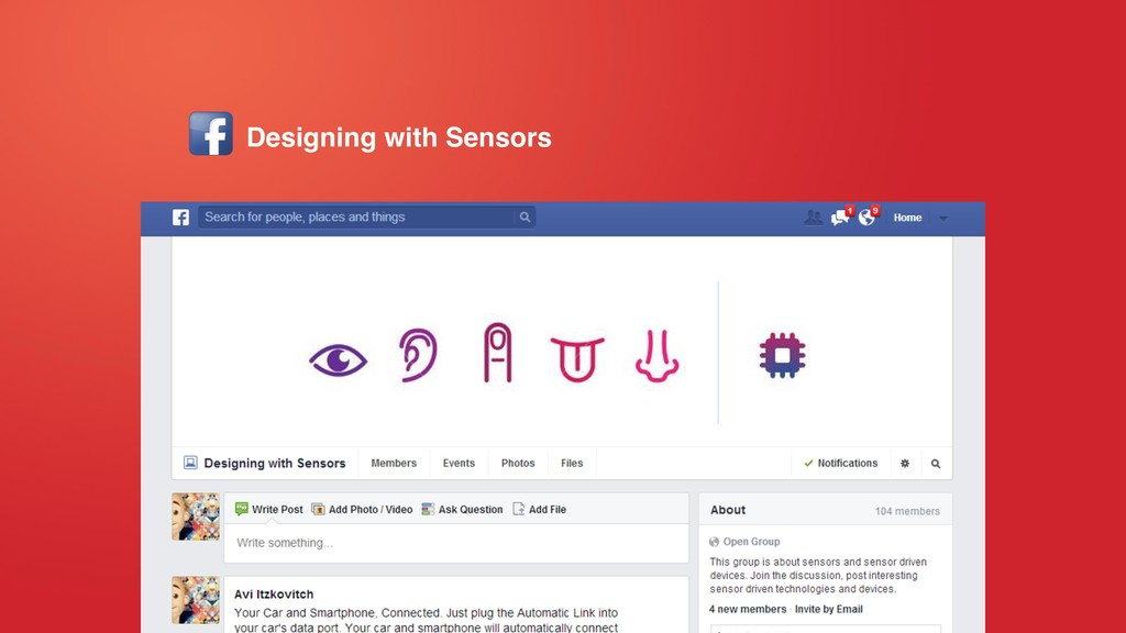 Designing with Sensors