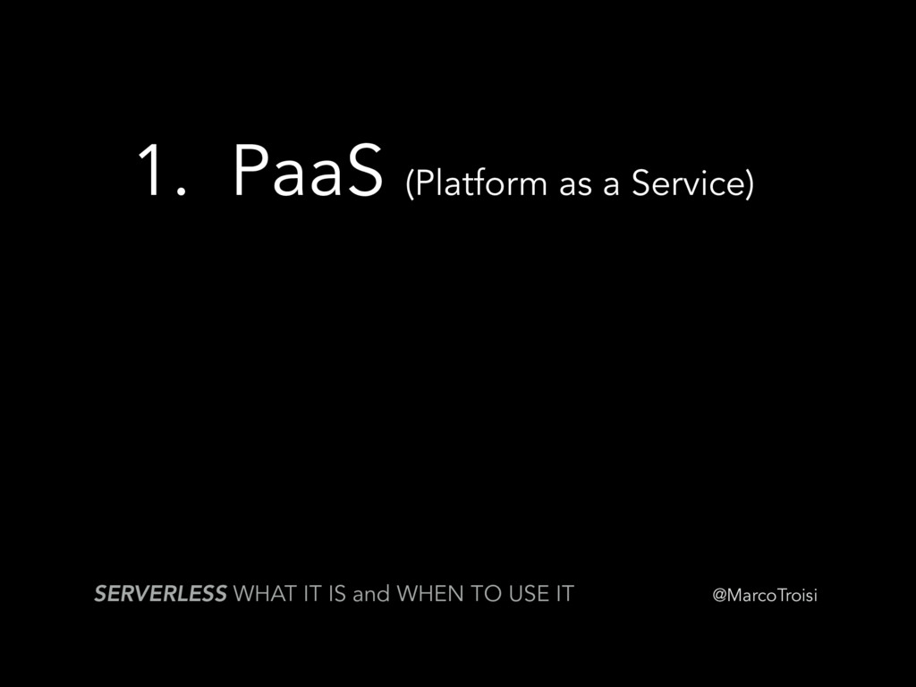 @MarcoTroisi SERVERLESS WHAT IT IS and WHEN TO ...