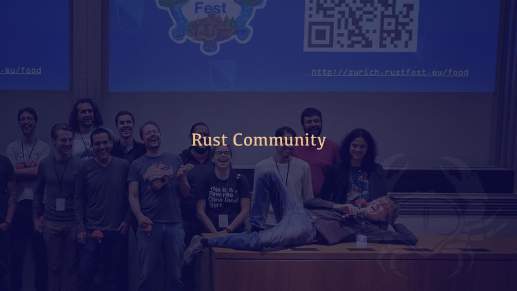 Rust Community