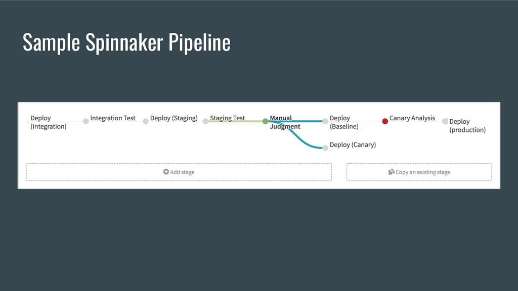Sample Spinnaker Pipeline