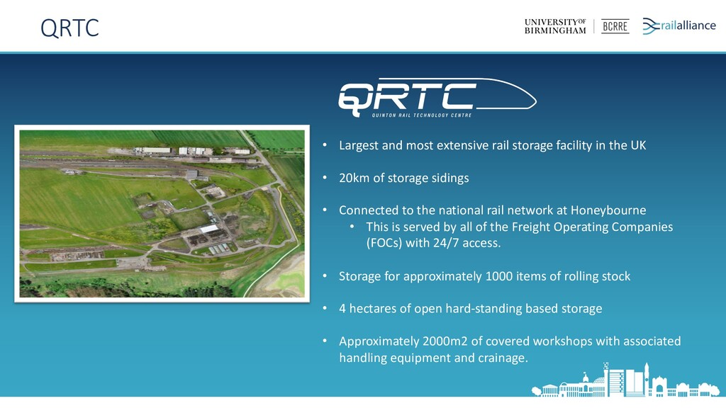 • Largest and most extensive rail storage facil...