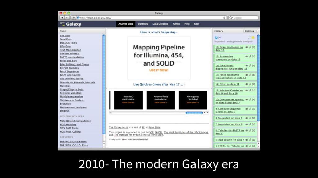 2010- The modern Galaxy era
