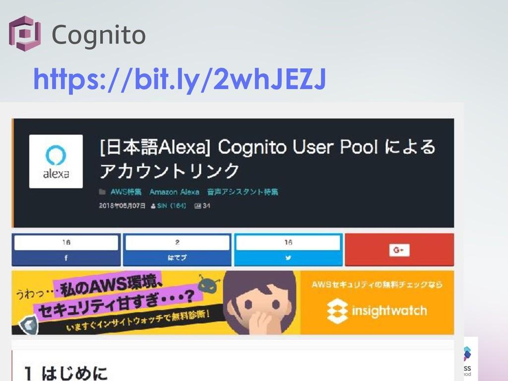 27 Cognito https://bit.ly/2whJEZJ