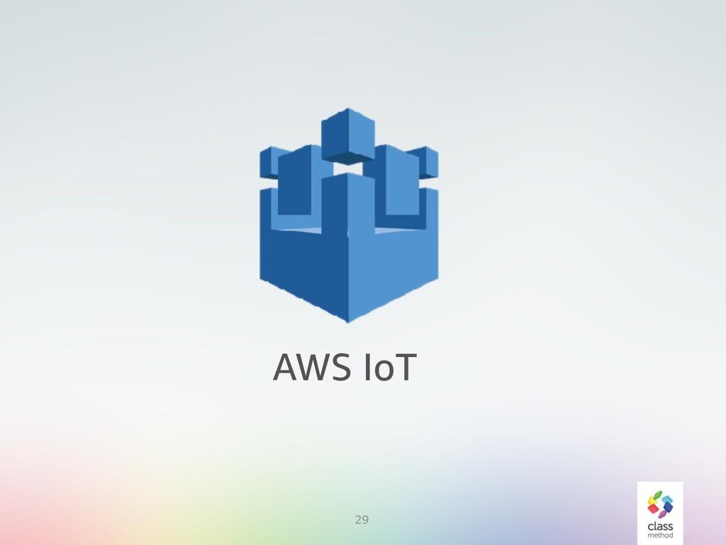 29 AWS IoT