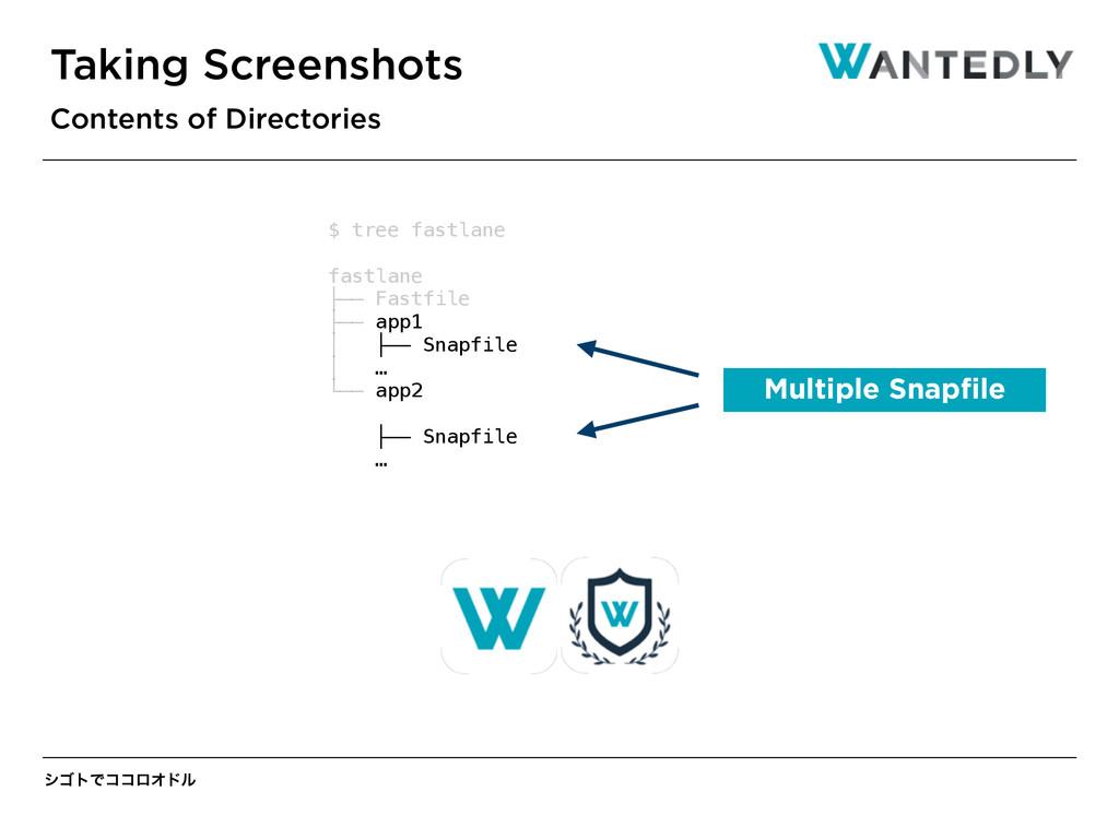 γΰτͰίίϩΦυϧ Taking Screenshots Contents of Direc...