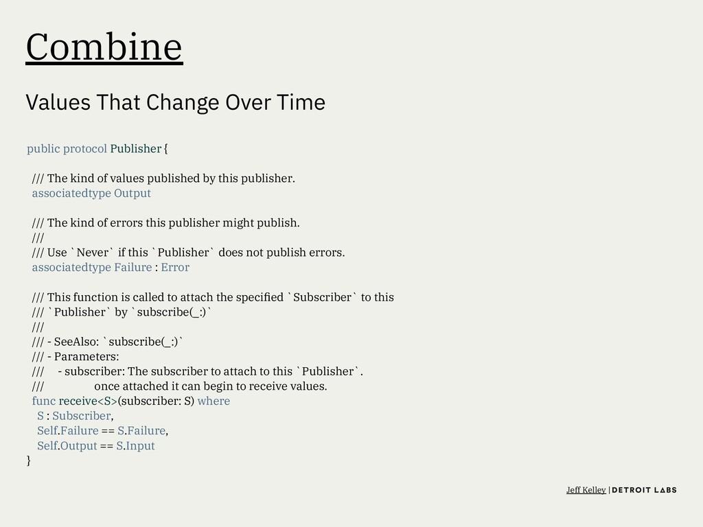 Combine Values That Change Over Time public pro...