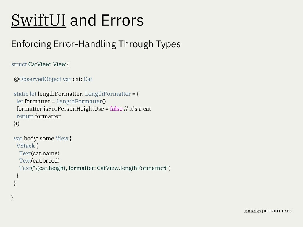 SwiftUI and Errors Enforcing Error-Handling Thr...