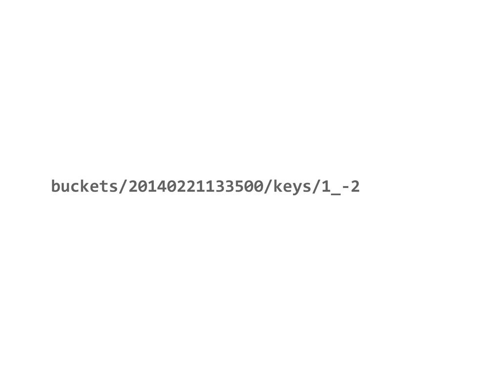buckets/20140221133500/keys/1_-‐2