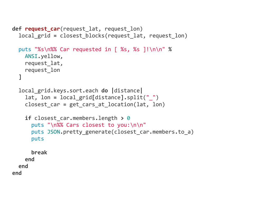 def request_car(request_lat, request_lon)   ...