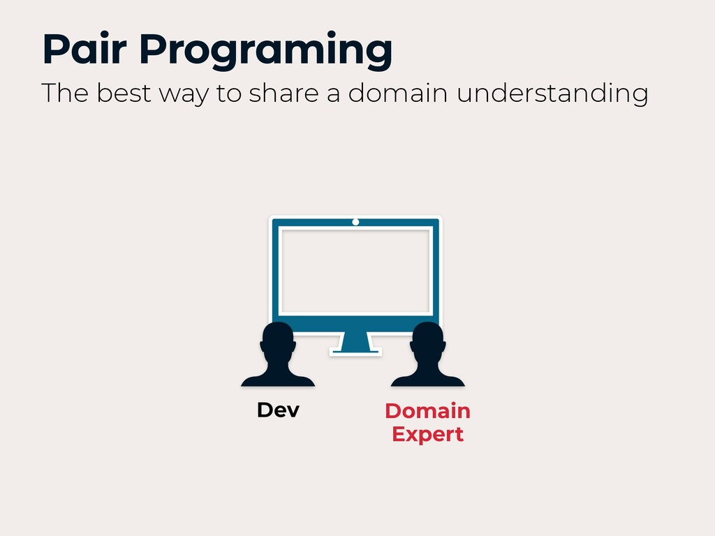 Pair Programing The best way to share a domain ...