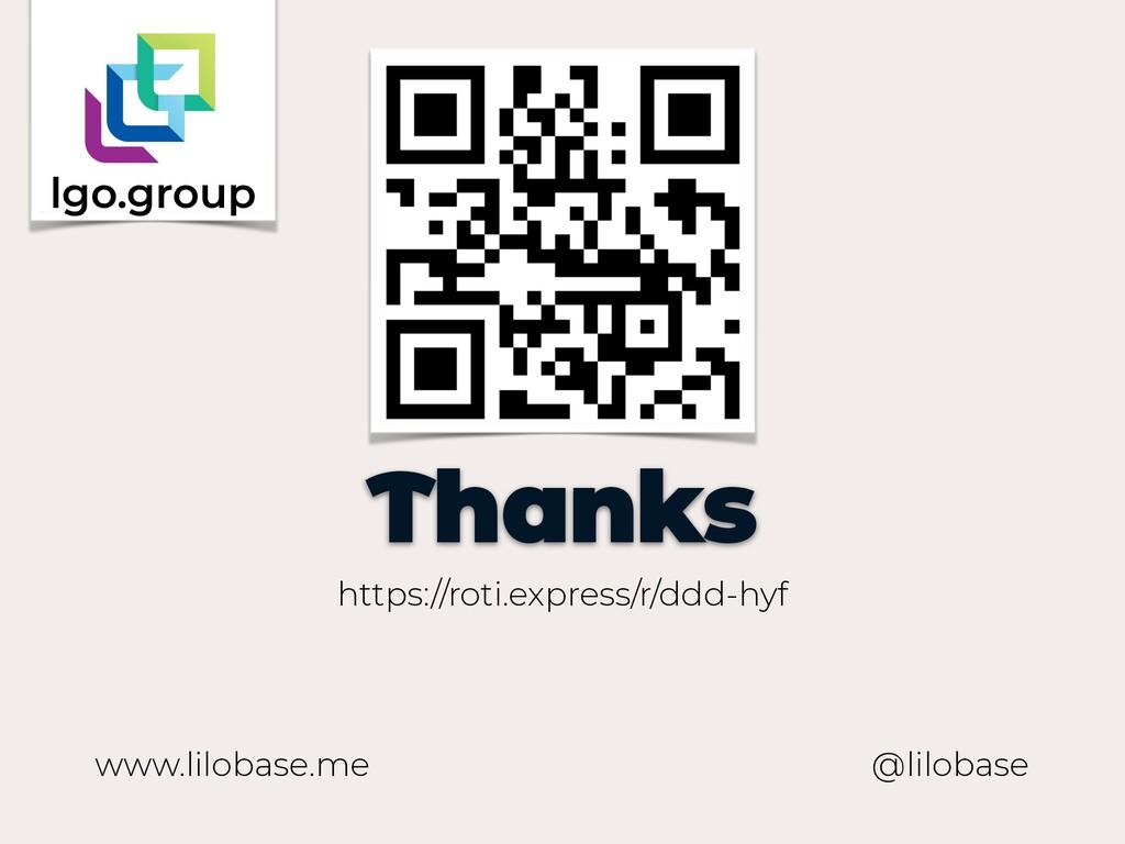 www.lilobase.me Thanks @lilobase https://roti.e...