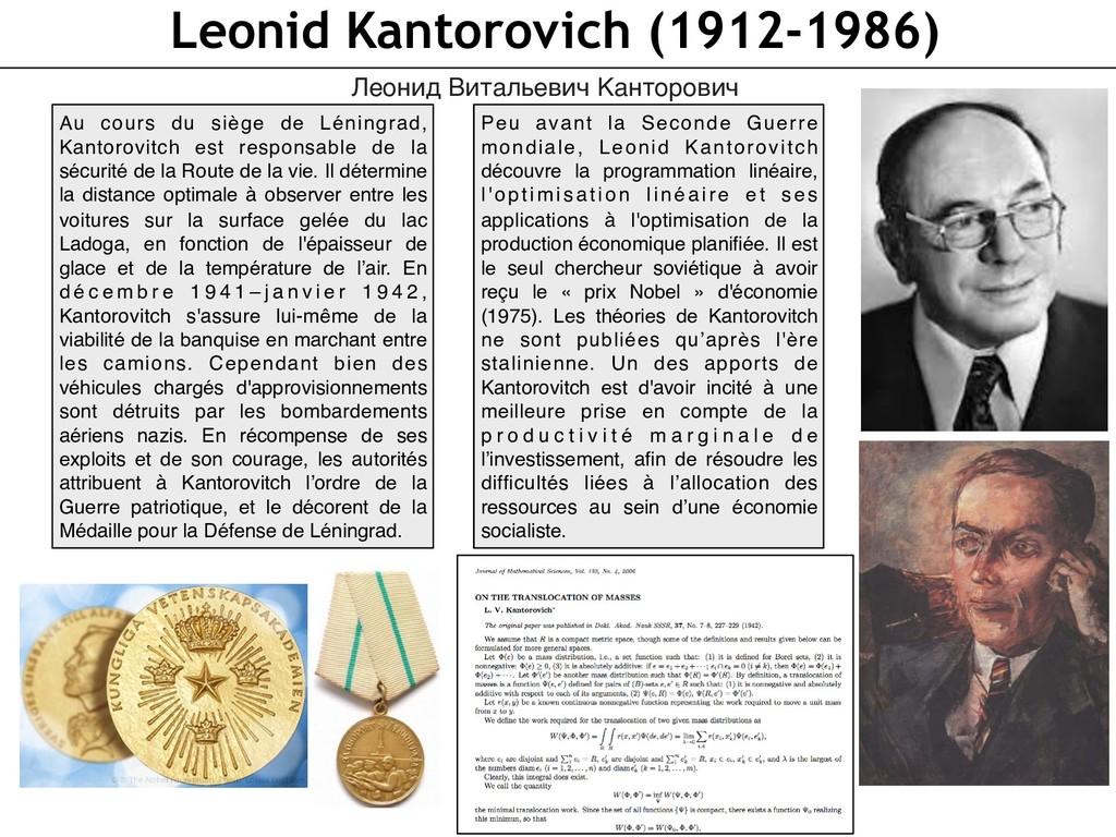 Leonid Kantorovich (1912-1986) Леонид Витальеви...