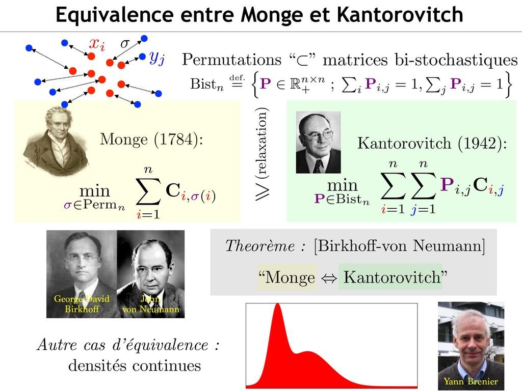 """Monge (1784): <latexit sha1_base64=""""4em3xVJ/KwP..."""