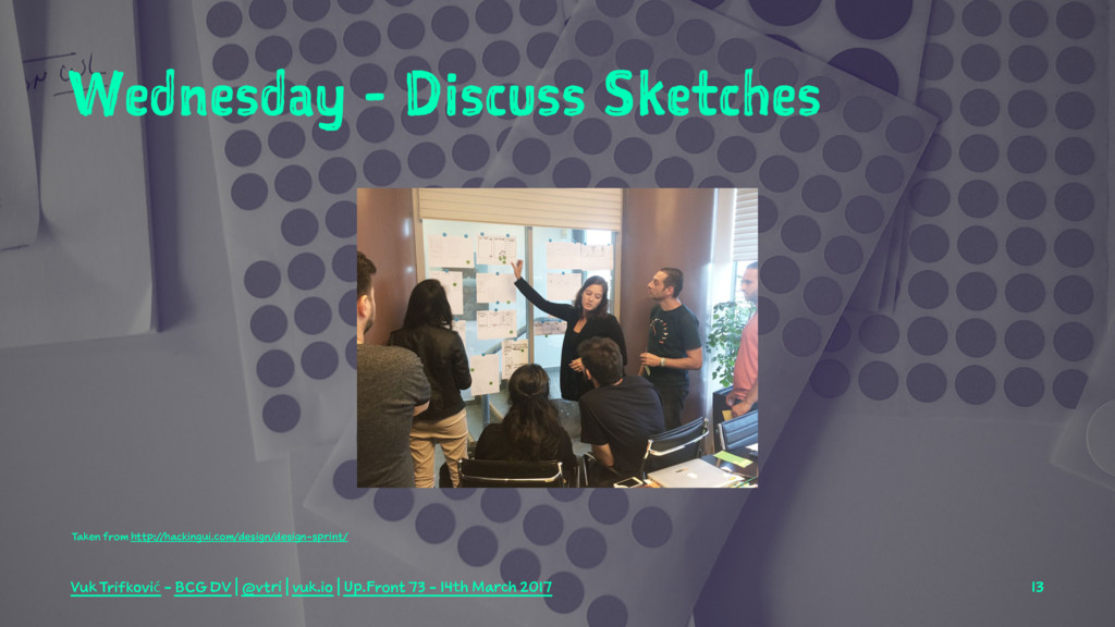 Wednesday - Discuss Sketches Taken from http://...