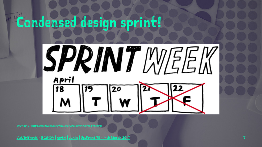 Condensed design sprint! © GV 2016 - https://pb...
