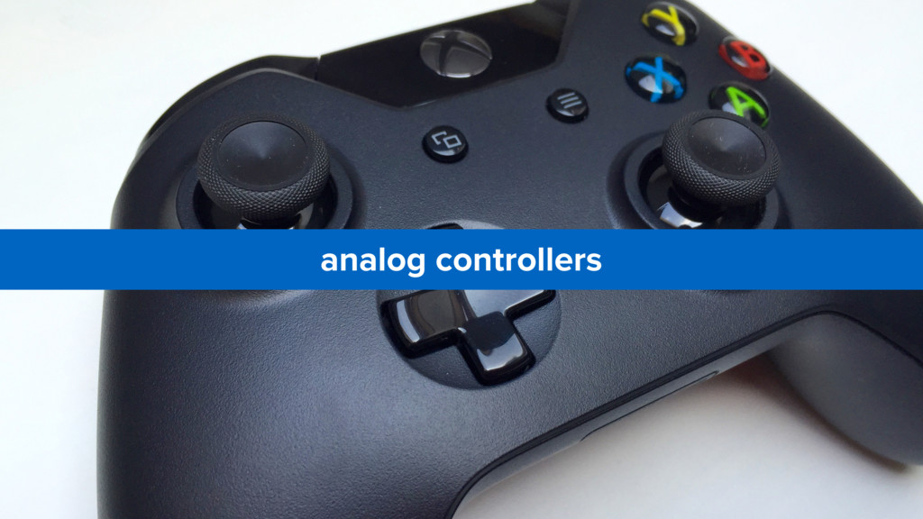 analog controllers