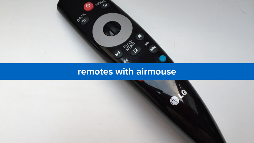 remotes with airmouse