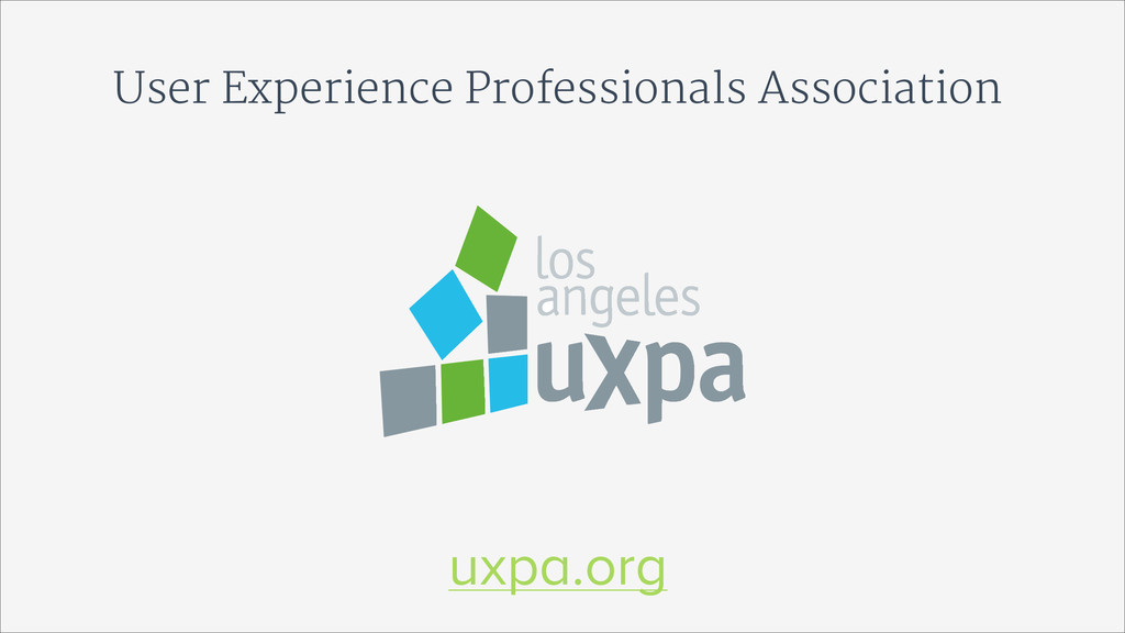 User Experience Professionals Association uxpa....
