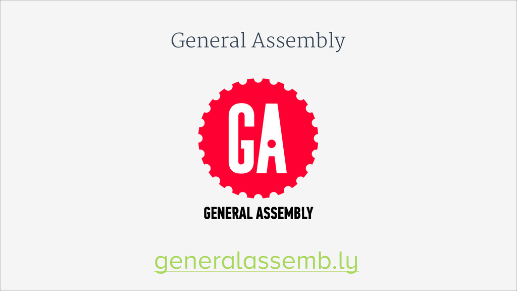 General Assembly generalassemb.ly