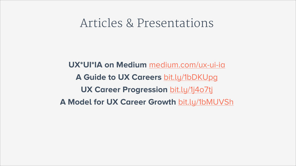 Articles & Presentations UX*UI*IA on Medium med...