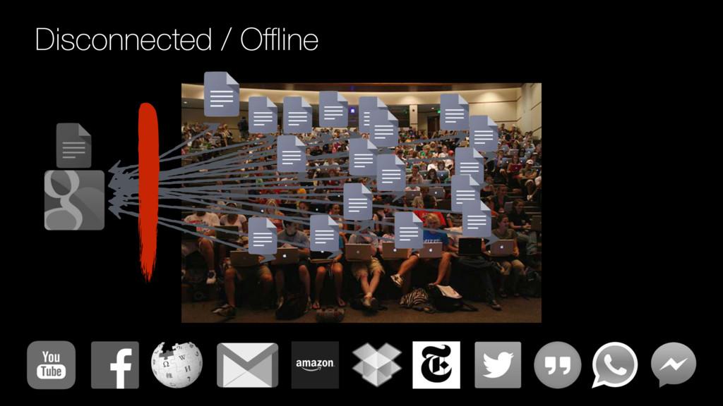 Disconnected / Offline
