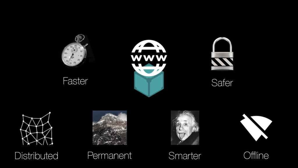 Permanent Distributed Safer Smarter Offline Faster