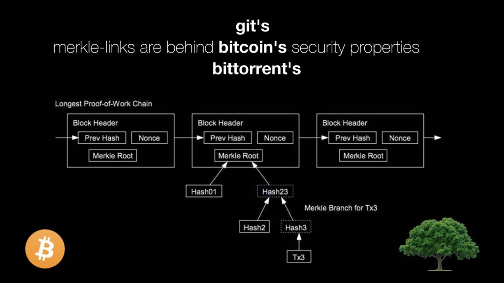 merkle-links are behind bitcoin's security prop...
