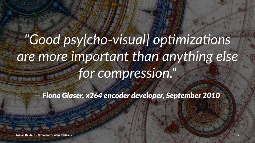 """Good%psy[cho,visual]%op3miza3ons% are%more%imp..."
