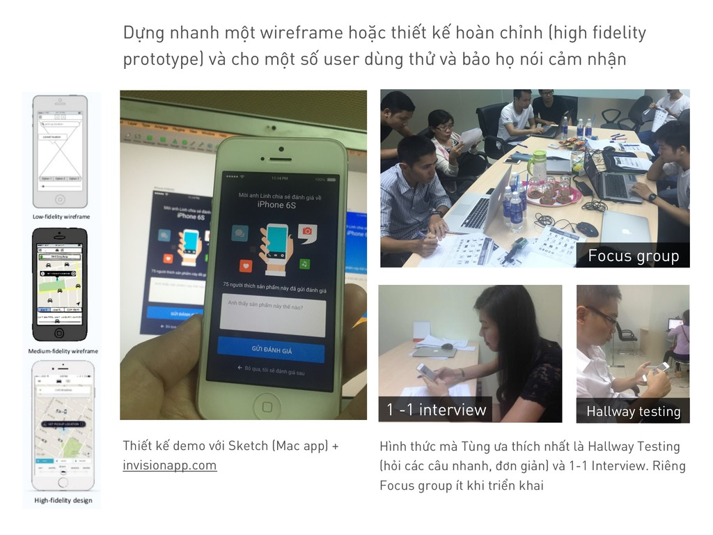Thiết kế demo với Sketch (Mac app) + invisionap...