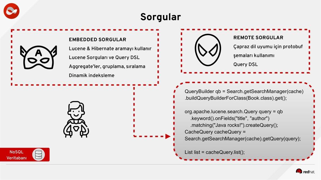 Sorgular NoSQL Veritabanı EMBEDDED SORGULAR Luc...