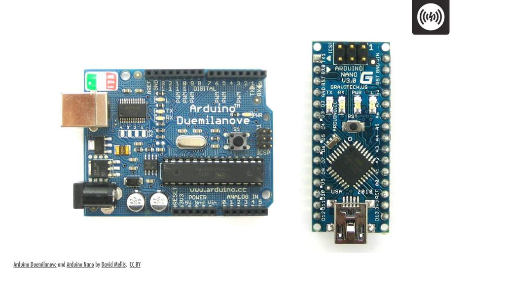 Arduino Duemilanove and Arduino Nano by David M...
