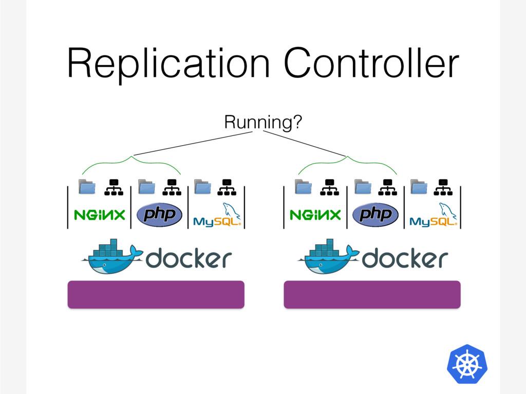 Replication Controller Running?
