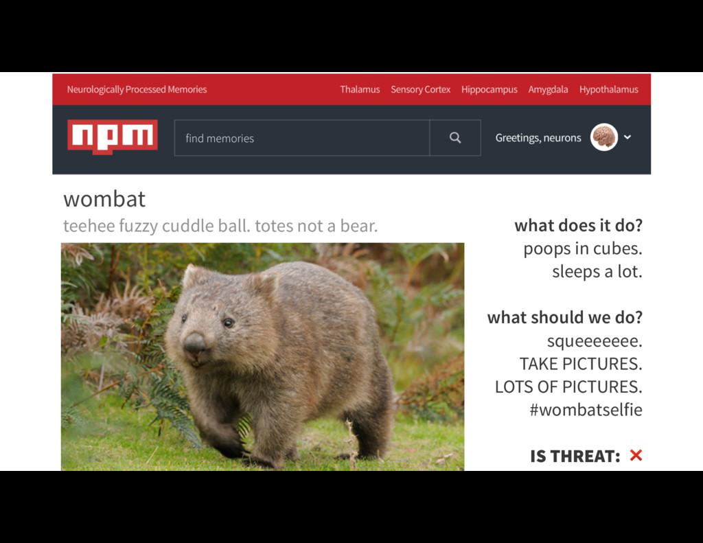 @rockbot #scotlandjs what does it do? poops in ...