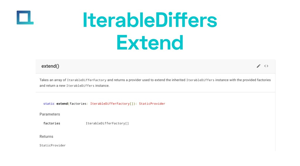 e-square.io IterableDiffers Extend