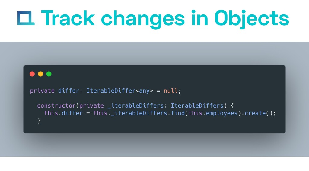 e-square.io Track changes in Objects