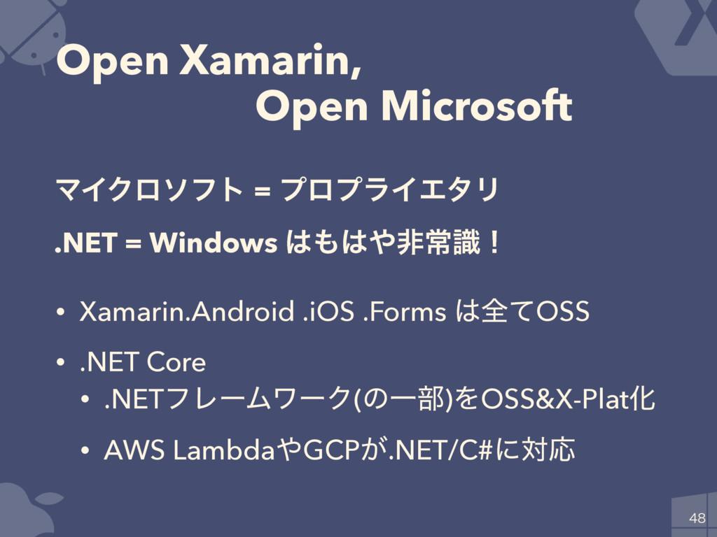 Open Xamarin, ɹɹOpen Microsoft • Xamarin.Androi...