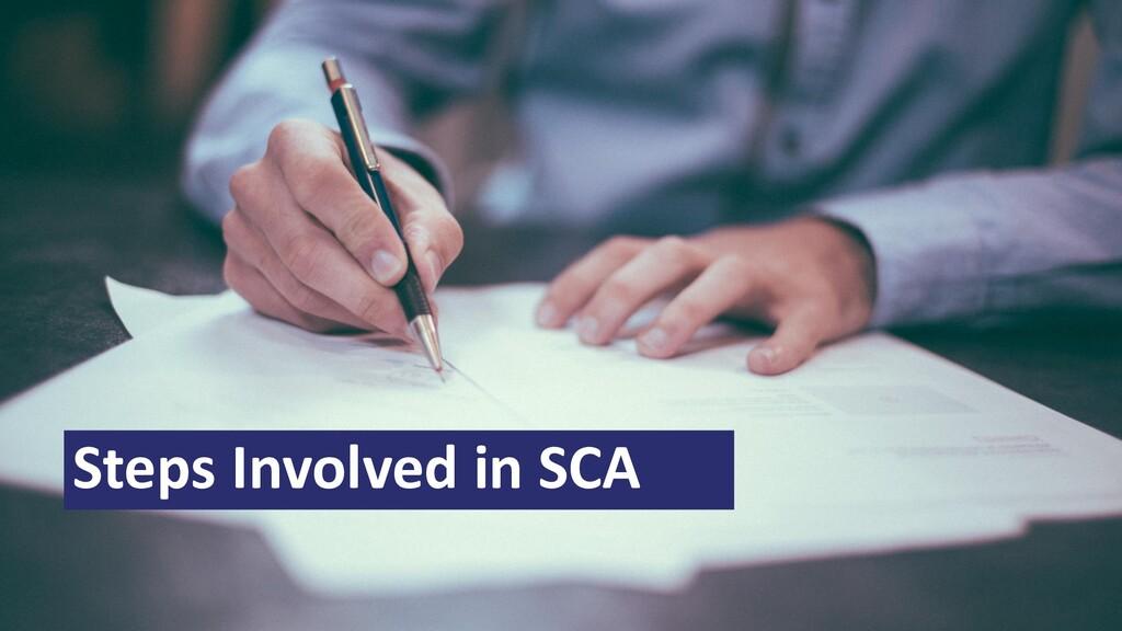 Steps Involved in SCA