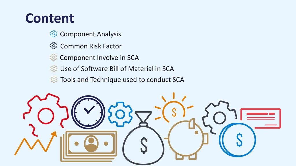 Component Involve in SCA Component Analysis Com...