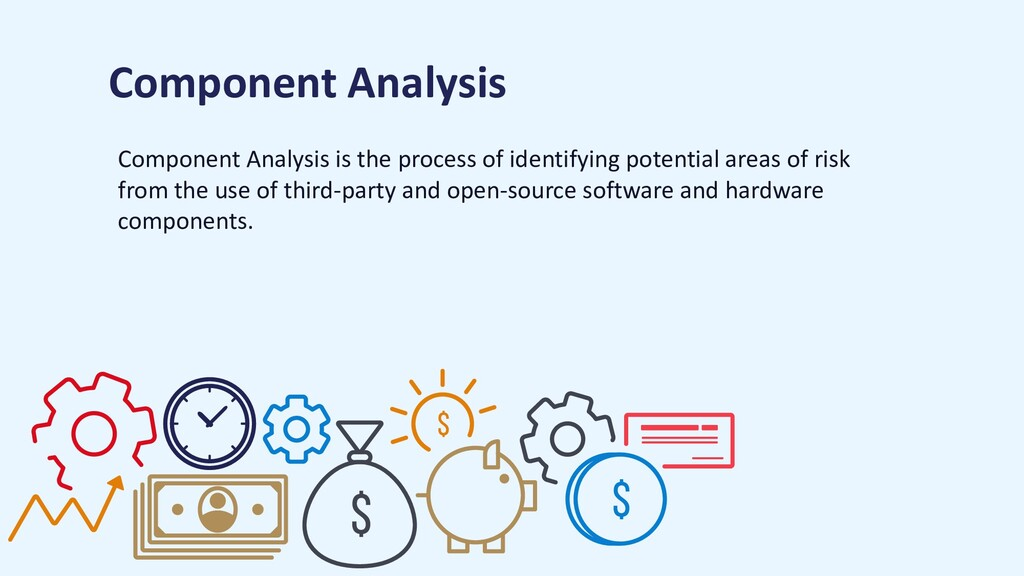 Component Analysis is the process of identifyin...