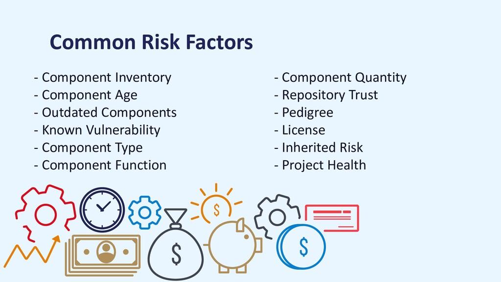 Common Risk Factors - Component Inventory - Com...
