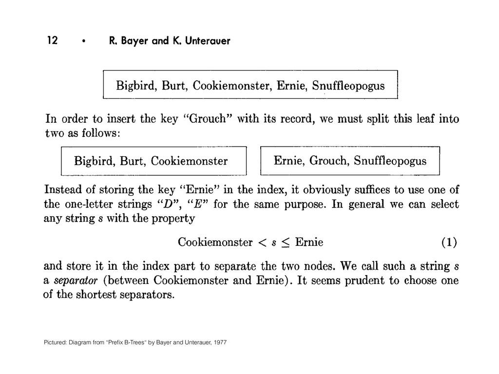 12 l R. Bayer and K. Unterauer Bigbird, Burt, C...