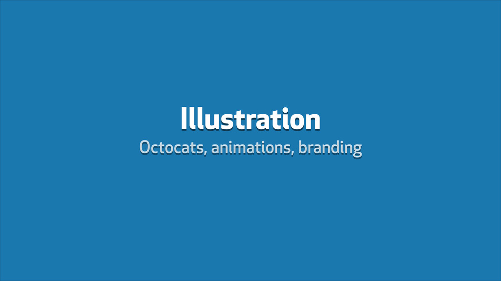 Illustration Octocats, animations, branding