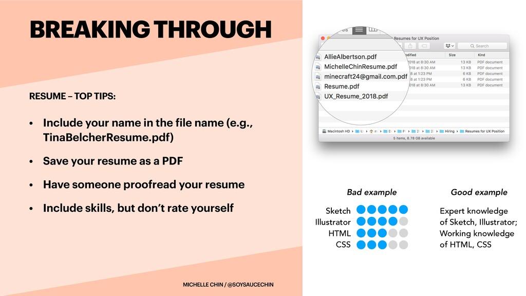 • Include your name in the f ile name (e.g., Ti...