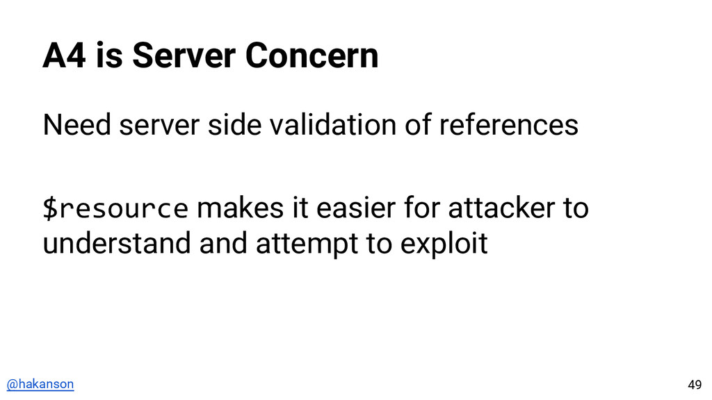 @hakanson A4 is Server Concern Need server side...